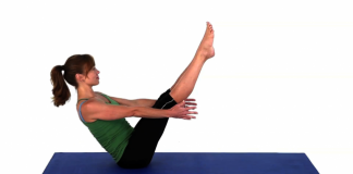 How to do boat pose