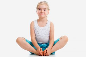 Butterfly Pose Yoga Kids