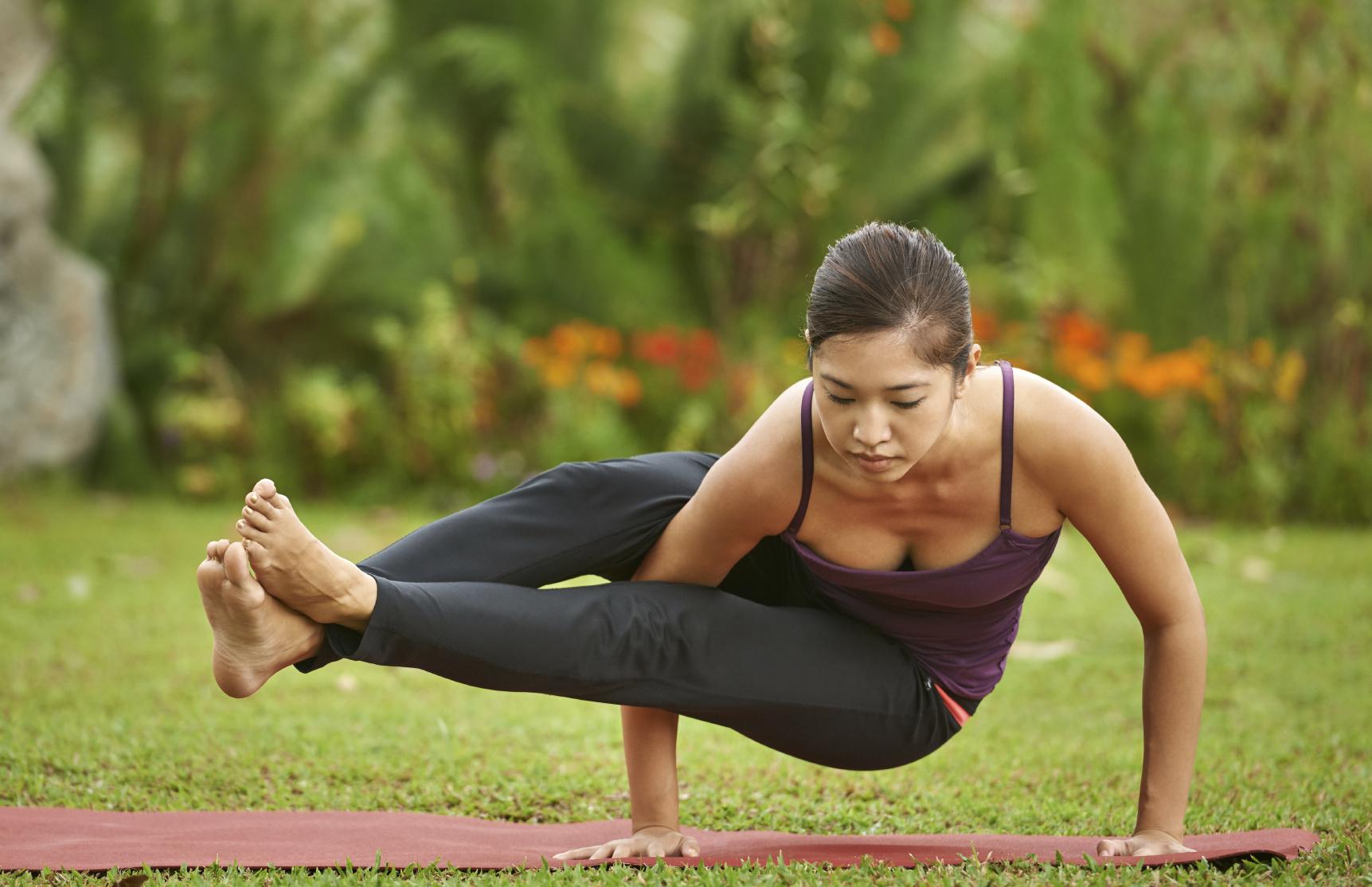 Eight Angle Pose (Astavakrasana): Steps, & Health Benefits