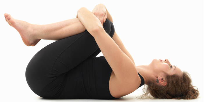 knees-to-Chest Pose