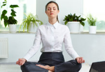 How You Can Do Yoga At Work
